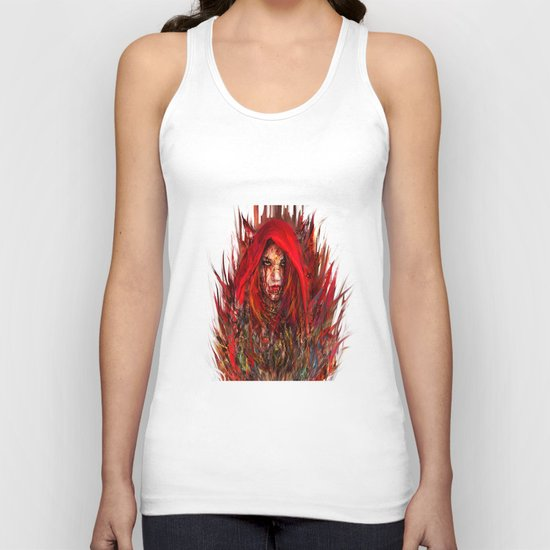 Red Riding Hood Unisex Tank Top