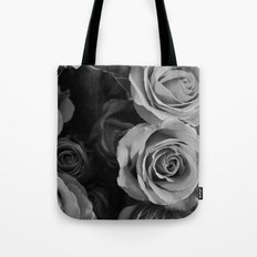 Black Hearted  Tote Bag