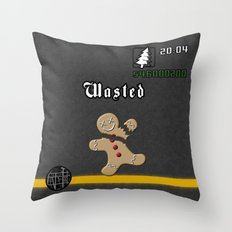 Christmas Inspired By GT… Throw Pillow