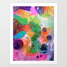 Blanket Detail III Art Print