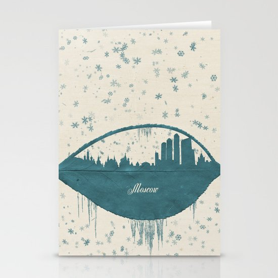 Frozen Moscow Stationery Card