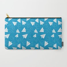 Paper Plane Carry-All Pouch