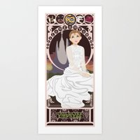 Childlike Empress Nouveau - Neverending Story Art Print