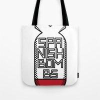 SPANISH BOMBS!  Tote Bag