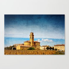 Old village church Canvas Print