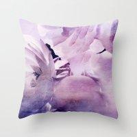 Where The Wild Roses Gro… Throw Pillow