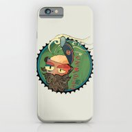 iPhone & iPod Case featuring Headwind by Buster Fidez