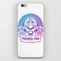 Mamma Mia Super Mario is-a Crazy iPhone & iPod Skin