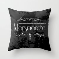 Harry Potter Curses: Morsmordre Throw Pillow