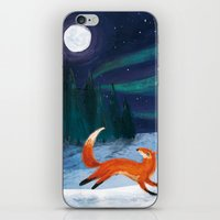 Northern Skies iPhone & iPod Skin