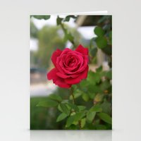 Rose 1 Stationery Cards