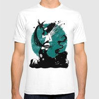 Sin Titulo Mens Fitted Tee White SMALL