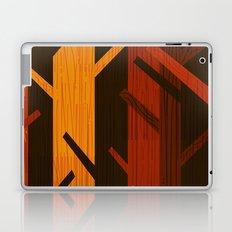 Retro Fall Woods by Friztin Laptop & iPad Skin