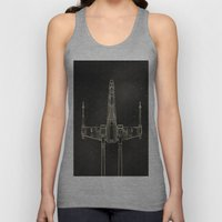 X-Wing Fighter Unisex Tank Top
