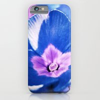 Blue Flower iPhone 6 Slim Case