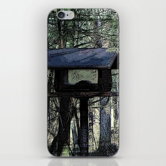 The Bird House iPhone & iPod Skin