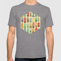 Car Park Mens Fitted Tee Tri-Grey SMALL