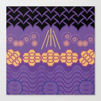 HARMONY Pattern Alt 3 Canvas Print