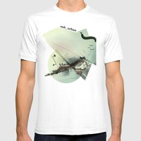 Roma Parco Mens Fitted Tee White SMALL