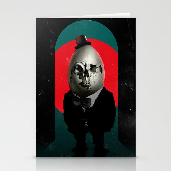 Humpty Dumpty Stationery Card