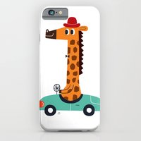 giraffe driver iPhone 6 Slim Case