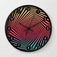 Summer Sunset Twista  Wall Clock