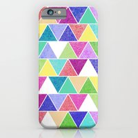 iPhone & iPod Case featuring Triangle Print; by Michaela Palmer