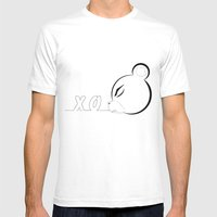 X_o Bear Mens Fitted Tee White SMALL
