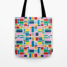 Stained Glass W Tote Bag
