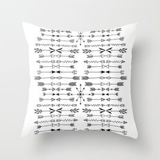 East North Throw Pillow