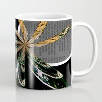 Golden Burst Mug