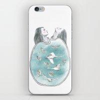 Twins 3 iPhone & iPod Skin