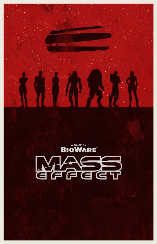 Mass Effect 1 Canvas Print