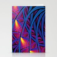 Under The Blue Palm Stationery Cards