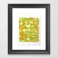 color field_03 Framed Art Print