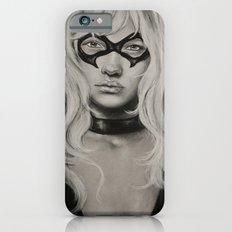 Black Cat iPhone 6 Slim Case