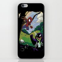 Kid Spidey iPhone & iPod Skin