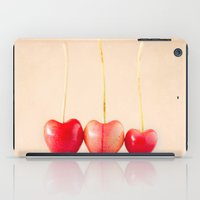 Cherry Heart Goodness iPad Case