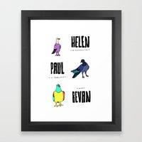 Bevan Framed Art Print