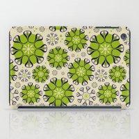 Playful Flower Pattern iPad Case