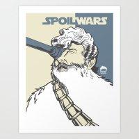 Spoil Wars Art Print