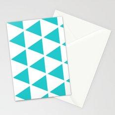 Sleyer Blue on White Pattern Stationery Cards