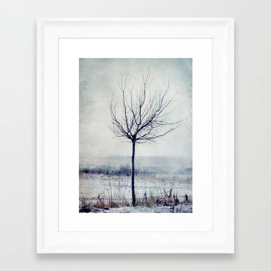 Monday Framed Art Print