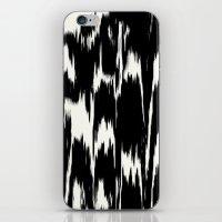 Ikat: Black Ivory iPhone & iPod Skin