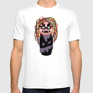 Kokeshi Bruja Avería Mens Fitted Tee White SMALL
