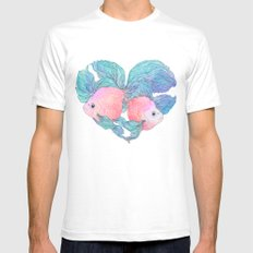 Summer Love Mens Fitted Tee White SMALL