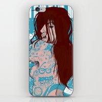 Ms. Tattoo-Girl iPhone & iPod Skin