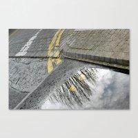Road Tree Canvas Print