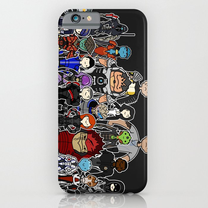 mass effect gang iphone ipod case by logan niblock society6. Black Bedroom Furniture Sets. Home Design Ideas