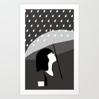 Close To Tears Art Print